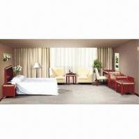 China Hotel Furniture, Made of MDF with Sapele Wood Veneer, with Eco-friendly Painting on sale