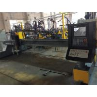 High Accuracy CNC Plasma Metal Cutter With 1 Flame Torch And 1 Plasma Torch Manufactures