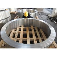 DIN 34CrNiMo6 Hot Rolled  Forged Steel Rings Hardness 30HRC - 40HRC Customized , Round Steel Blanks Manufactures