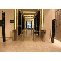 Office Access Drop Arm Barrier , Biometric Construction Site Access Control Turnstiles Manufactures
