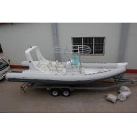 Quality Double Bottom Offshore Inflatable Boats With Motor Fast Response Rough Weather for sale