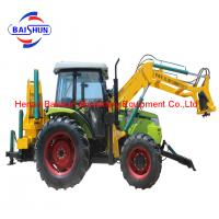 Custom design hydraulic pole erecting and digging tractor machine auger used for earth drill Manufactures