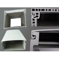 Quality Plastic Electrical Wire Trough Straight Polymer Alloy Cable Tray, silver color for sale