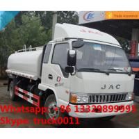 Hot sale JAC 5,000L water tank truck with cheapest price, high quality and competitive price JAC euro4 water truck Manufactures