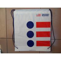 Travel Size Plastic Bags Waterproof Drawstring Backpack Promotional Manufactures