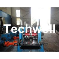 C Section Channel Roll Forming Machine with Gearbox Drive for Making Steel C Purlin Manufactures