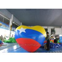 Party Decoration Bright Large Heart Shaped Balloons Helium Gas Weather Resistant Manufactures
