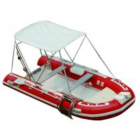 25HP Motor Inflatable Fishing Boats Rigid Hull Inflatable Boats 3.5 Meter Length Manufactures