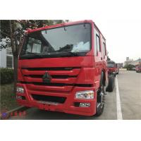 6 Seat 276kw 27550kg Six Cylinder Foam Fire Truck 90km/H 6x4 Drive Manufactures