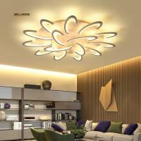 Buy cheap Modern Acrylic Design Ceiling Lights Bedroom Living Room 90~260V White Ceiling Lamp LED Home Lighting Light from wholesalers
