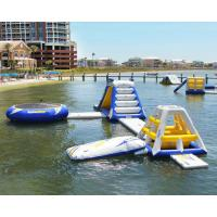 Quality Fireproof PVC Inflatable Water Toys , Inflatable Water Sports 5L x 2.4W x 1.8H for sale