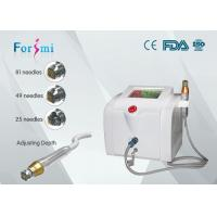 Portable skin rejuvenation micro needle fractional rf machine with 0.5-3mm depth Manufactures