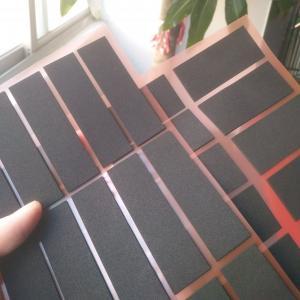 Professional die-cutting black glossy pe foam gum high quality 0.3 thick PE foam Manufactures