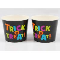Leak Proof Paper Soup Cups , Eco Friendly Soup Containers FDA Approved Manufactures