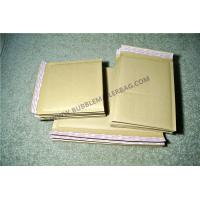 Secure sealed Kraft Bubble Mailers Maroon 115x210mm #B Vinyl Buffered for Transport