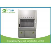 Scratch Resistant Laboratory Fume Hood 4ft For Chemical Harmful Gas Exhausting Manufactures