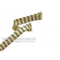 China PET Expandable Heat Resistant Cable Sheathing , Halogen Free Heat Proof Wire Wrap on sale