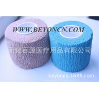 Tear By Hand Color Self - adherent Cotton Elastic Bandage To Wrap Body Parts Manufactures
