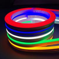 Neon Rgb 5050 Led Strip Lights Waterproof 120 Leds / M IP68 12V 10MM Width PCB Manufactures