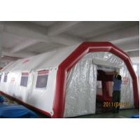 Purple Large Inflatable Tent Flexible Inflatable Camping Tent 420D Oxford Cloth Manufactures