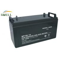 ABS Plastic Shell 120Ah 12 Volt Gel Battery For Fire fighting Equipment Manufactures