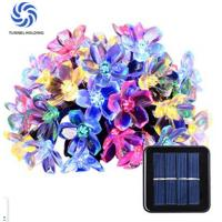 Outdoor Solar Powered Flower Lights / Solar Blossom Lights Low Carbon No Pollution Manufactures