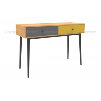 110cm Width 30KG Wood Writing Desk With 2 Drawers Manufactures