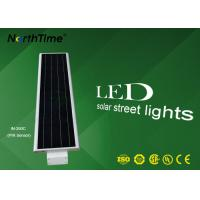Commercial Solar Street Light With Lithium Battery Long Lasting Illuminations Manufactures