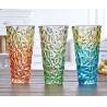 Rose Flower Decorative Glass Vases Machine Press For Friend Restroom Desktop Manufactures