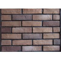 Multipul Color 3D Cement Faux Exterior Brick With Wall Decoration Manufactures