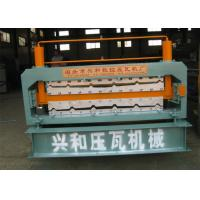 Automatic Double Deck Roll Forming Machine For Making Steel Roof Panel Manufactures