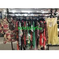 Clean High Quality Second Hand Clothes ,  Popular Used Girls Clothes Silk Blouse Manufactures