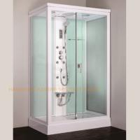 1200 x 800mm rectangular steam shower bath cabin computer controlled Manufactures