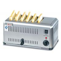 Buy cheap Commercial 6 / 4 Slice Electric Toaster Snack Bar Equipment / Toast Bread Machine from wholesalers