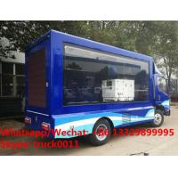 Quality High quality and competitive price FAW brand mobile LED advertising truck for for sale