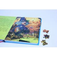 Quality Soft Cover Paper Puzzles Offset Book Printing For Children's Intelligence for sale