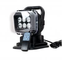 China 7inch 30w led search light hunting lighting,360 rotate remote control,improve visibility on sale