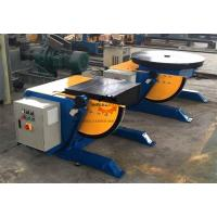 High Precision Squre Pipe Welding Positioners Table With 550 Watt Motor Driving Manufactures