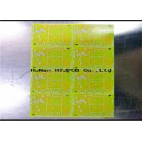 1.5mm Single Sided PCB , Single Sided Printed Circuit Board Cem 1 Material Manufactures