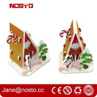 Merry christmas 3d puzzle for Christmas hanging as miniature puzzle Manufactures