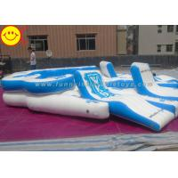 Giant Custom Inflatable Raft Party Boat Lake River 10 person Tropical Tahiti Floating Island Manufactures