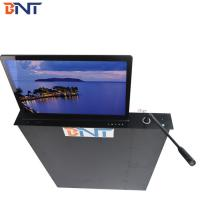 17.3 Inch  Screen Table Motorized Computer Monitor Mechanism With Motorized  MIC Manufactures