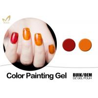 Beauty Nail Painting Design Gel Nail Art Paint With Different Size No Smudging Manufactures