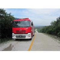 Speed Ratio 1.48 Water Tanker Fire Truck Six Seats Water Shot Range ≥75m Manufactures