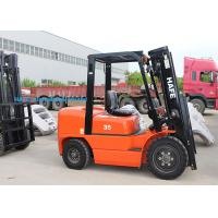 High Safety Operation Diesel Forklift Truck 3T With Long Fork And Fork Extension Manufactures