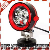 New 12v 4'' 16W LED Work Light Offroad Truck Tractor SUV ATV JEEP LED Driving Fog Light Manufactures