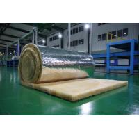Orange Glass Wool Blanket Applied to Roof Insulation , 10-60 kg /m3 Manufactures