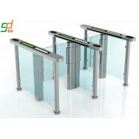 Access Control Half Height Automatic Systems Turnstiles / Supermarket Swing Gate Manufactures