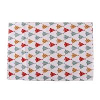 Buy cheap Decorative Square Dining Table Mats Cotton Fabric 40 * 35cm For Home / Restaurant from wholesalers