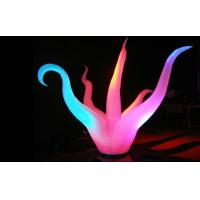 Lovely Nylon Fabric Inflatable Advertising Products Glowing Horn Lamp Manufactures